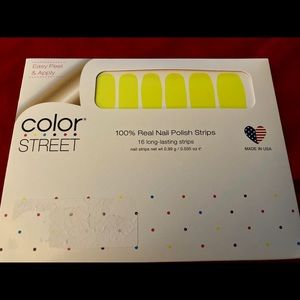 """RETIRED """"Electric City"""" Color Street Nail Strips"""